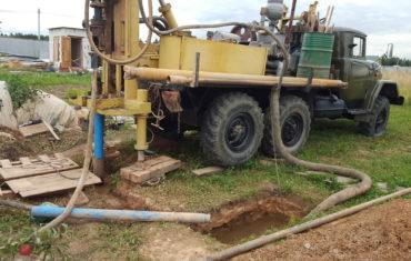 Технология бурения водяных скважин
